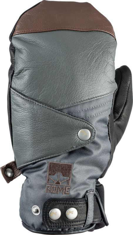 ROME Bowery Mitt Glove Grey L Fausthandschuh