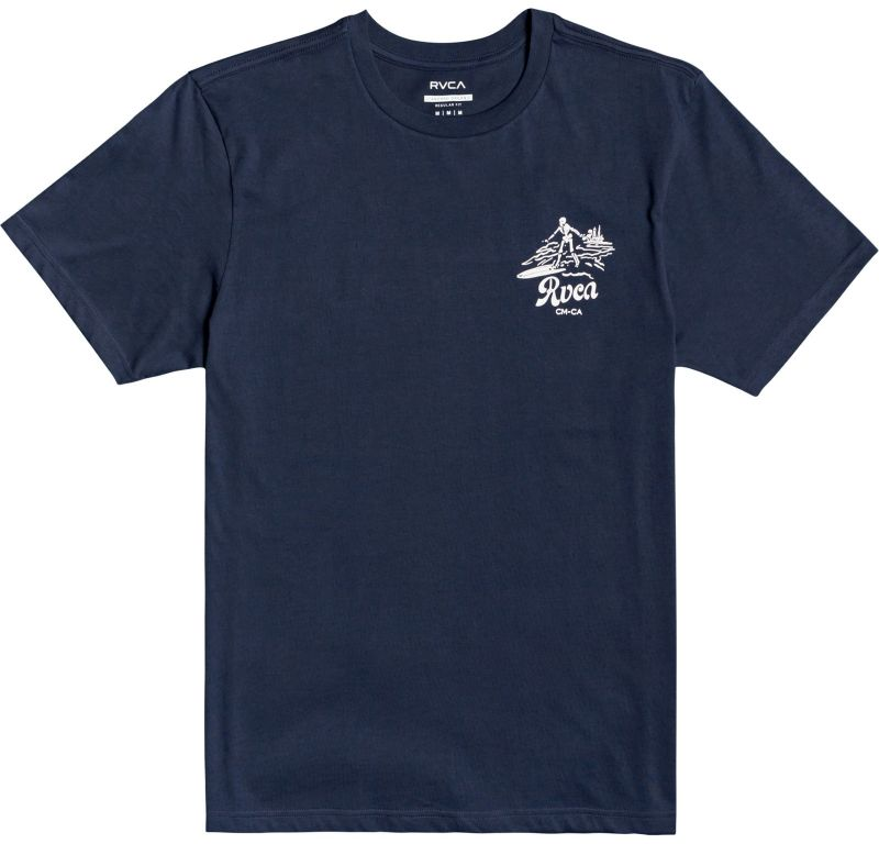 RVCA Tropical Disaster SS Moody Blue - T-Shirt