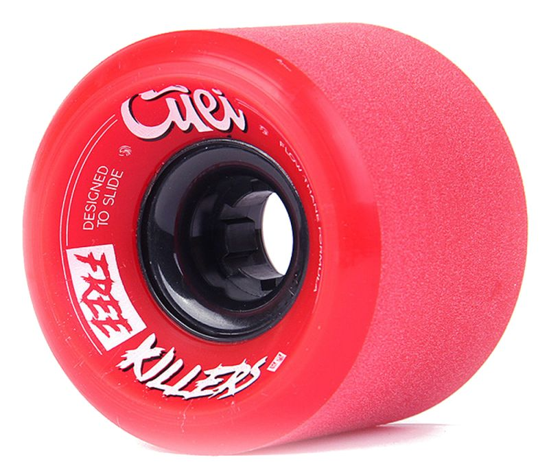 CUEI Free Killers 73mm Red 80a