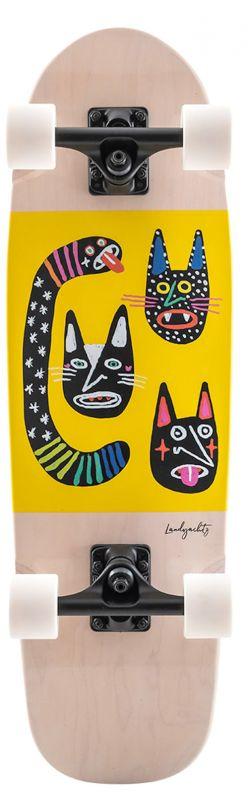 LANDYACHTZ Dinghy Blunt Wild Cats - Minicruiser Komplett