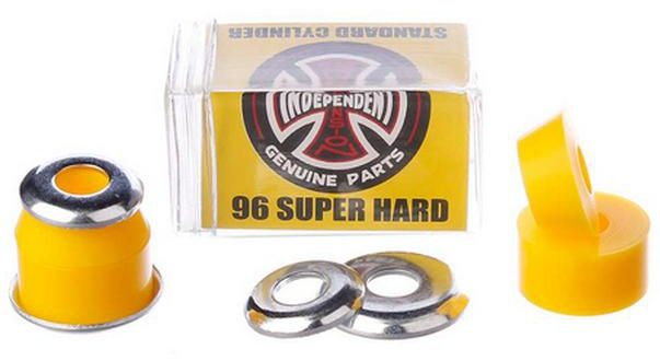 INDEPENDENT Standard Cylinder Cushions Super Hard 96A Yellow Bushings