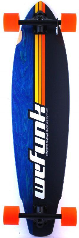 WEFUNK Stripes SpeedCarver Longboard komplett