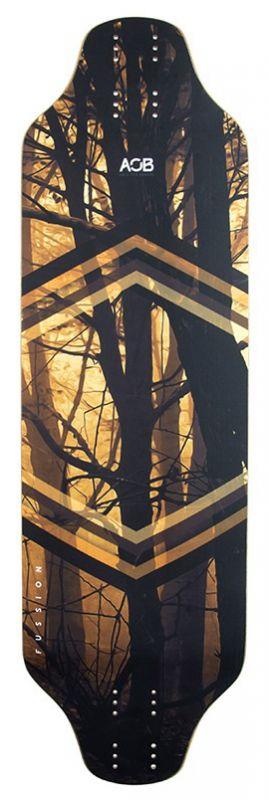 AOB Fussion Forehead Longboard Deck