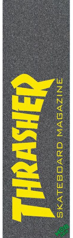 "MOB Thrasher Skate Mag Black/Yellow - Griptape 9""x33"""