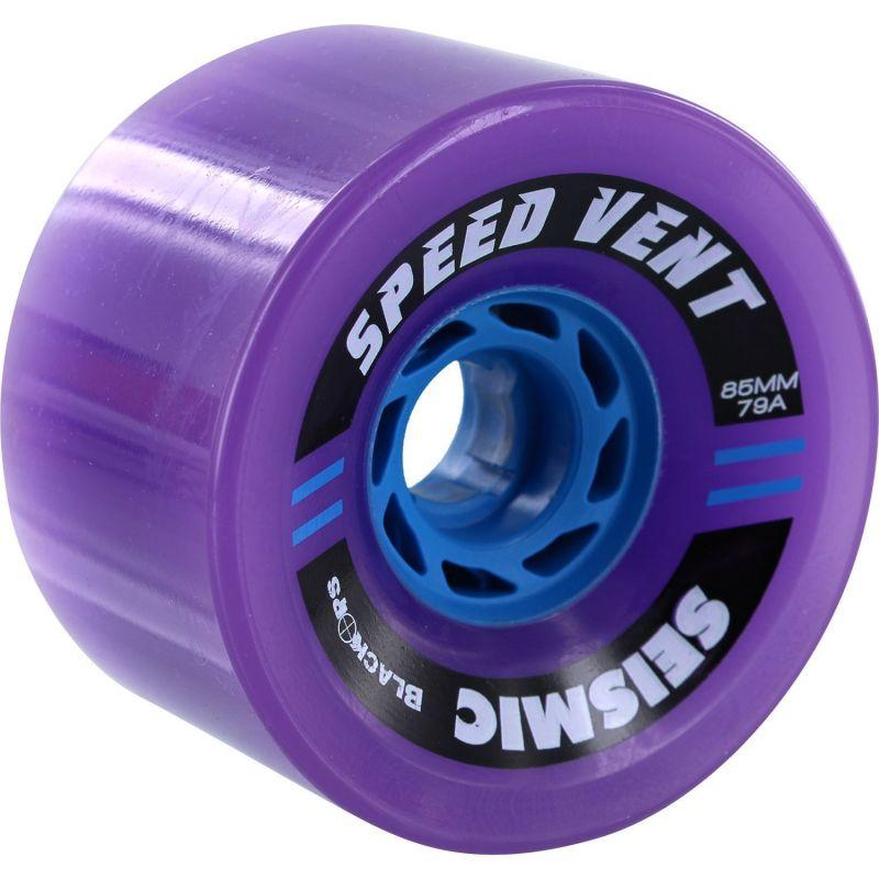 SEISMIC Speed Vent 85mm 79a Purple