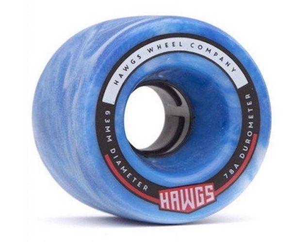 HAWGS Fatty Hawgs 78a 63mm Blue Swirl