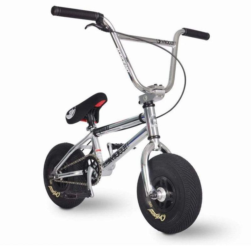 WILDCAT Galaxy 2A Mini BMX Bike - Silver/Black
