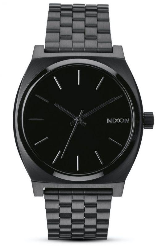 NIXON Time Teller All Black - Armbanduhr