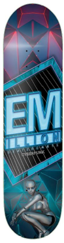 "EMILLION Cyberpunk 8.125"" - Skateboard Deck"