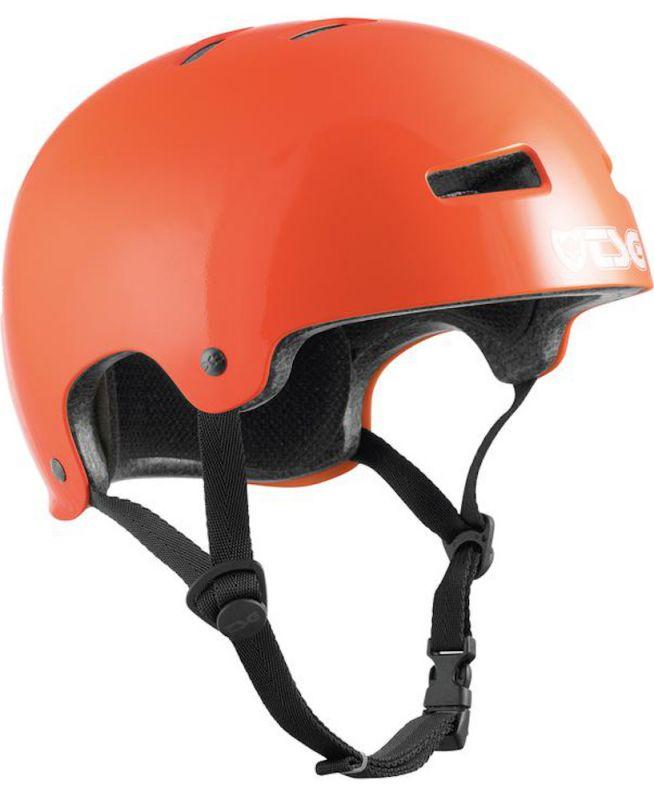 TSG Evolution Solid Colors Gloss Orange - Skatehelm