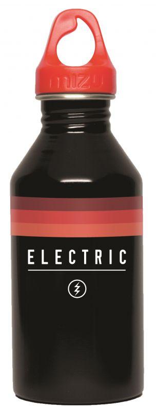 MIZU Electric M6 Blasted Glossy Black Bottle + Bottle Jacket