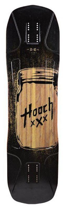 MOONSHINE Hooch Black - Longboard Deck