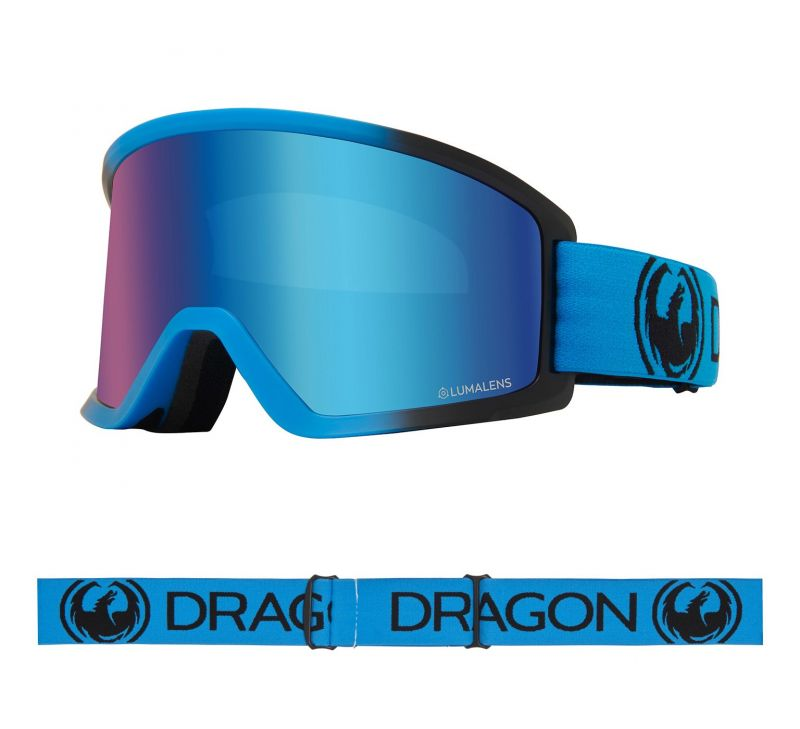 DRAGON DX3 OTG - Blueberry with Lumalens Blue Ionized Lens - Snowboardbrille
