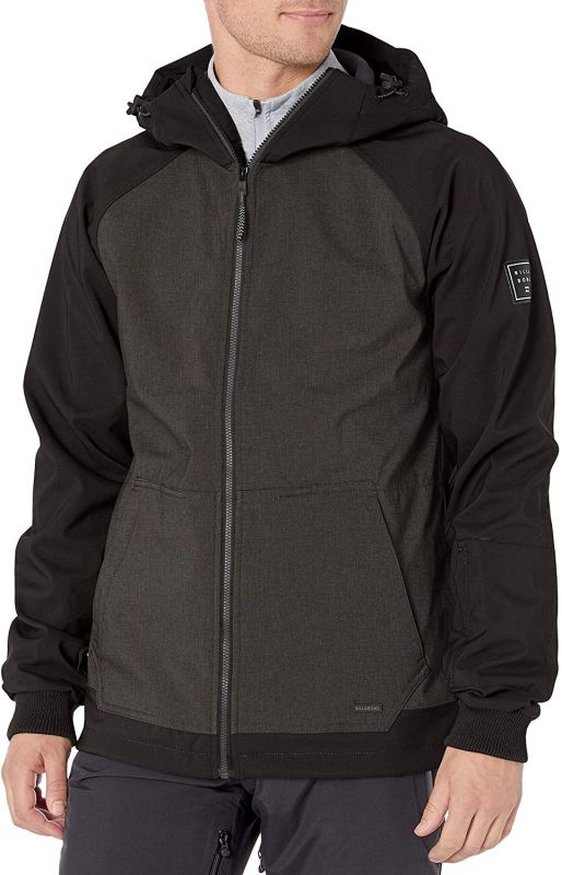 BILLABONG Downhill Softshell - Iron Heather - M - Snowboard Softshelljacke