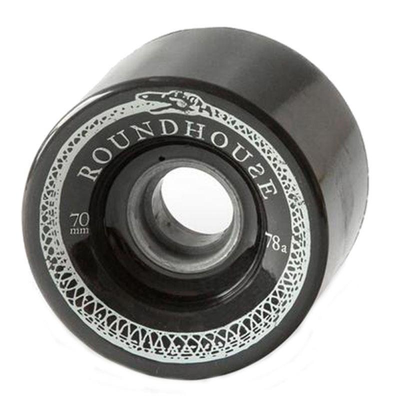 CARVER Roundhouse Mag Wheel Set 70mm 78a Black