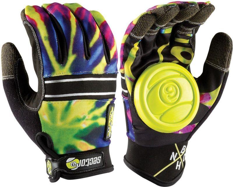 SECTOR 9 BHNC Slide Gloves - Lime Burst