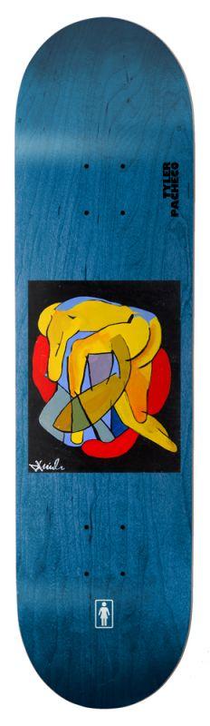 "GIRL Pacheco Tangled 8""  - Skateboard Deck"