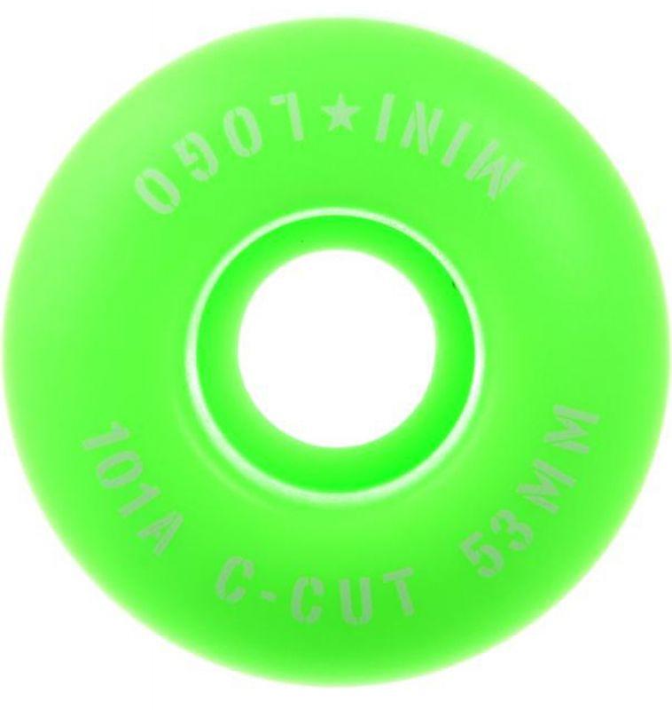 MINI LOGO C-Cut #3 101a 53mm Green
