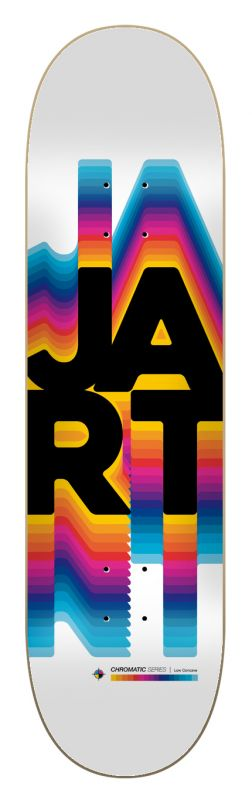 "JART Chromatic 8.25""x31.85"" LC - Skateboard Deck"