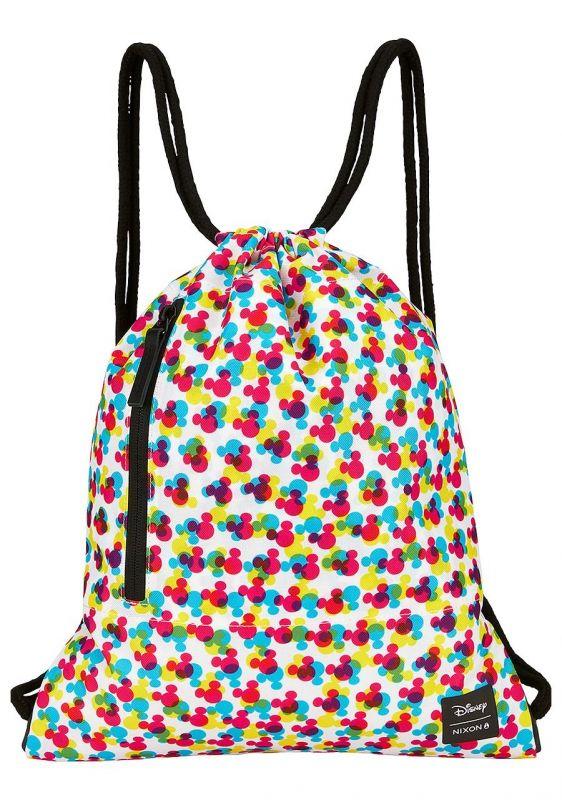 NIXON Everyday Cinch Gym Bag Mickey CMYK Turnbeutel