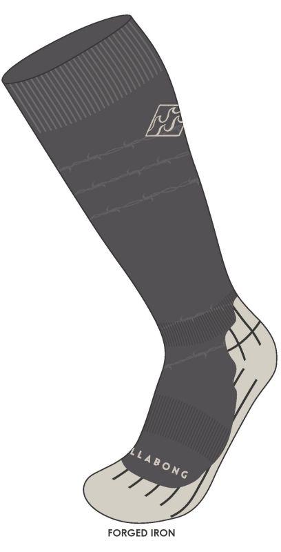 BILLABONG Sundays Men Socks - Iron - M - Snowboard Socken