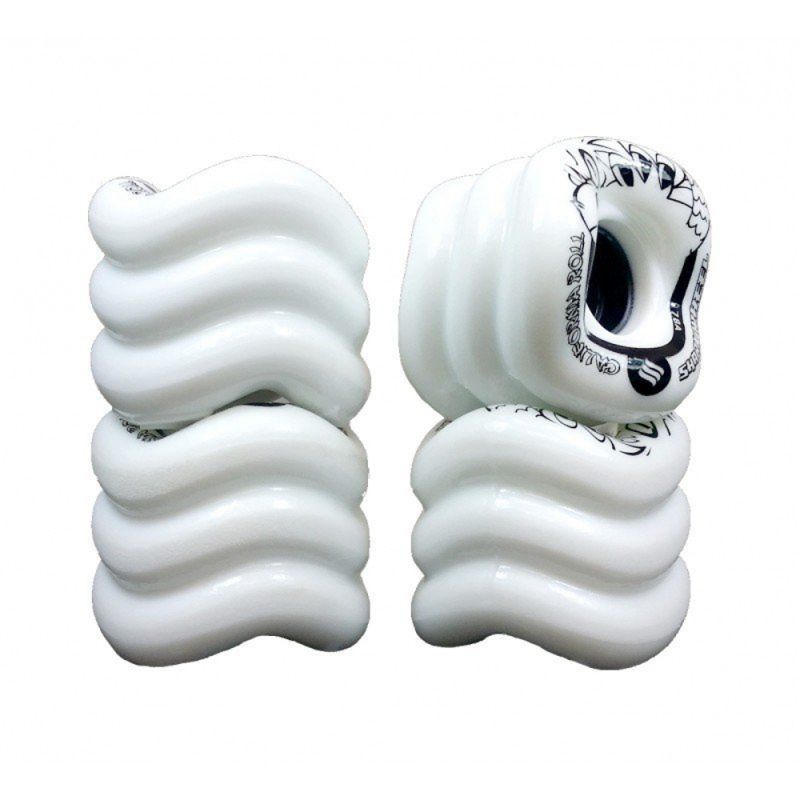 SHARK WHEELS California Roll 60mm 78a White