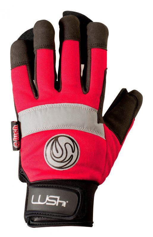 LUSH Freeride Slide Gloves - Red - S