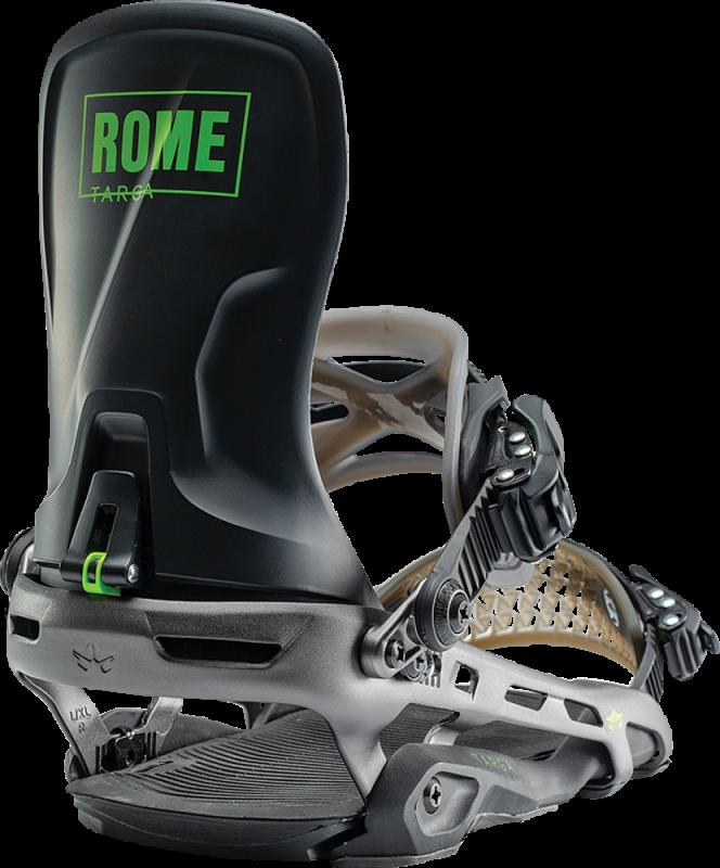 ROME Targa Black S/M - Snowboard-Bindung 2020