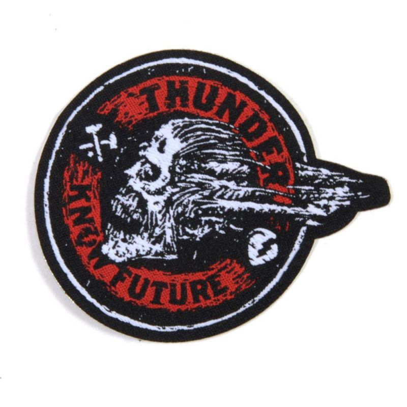THUNDER Screaming Skull Patch Aufnäher