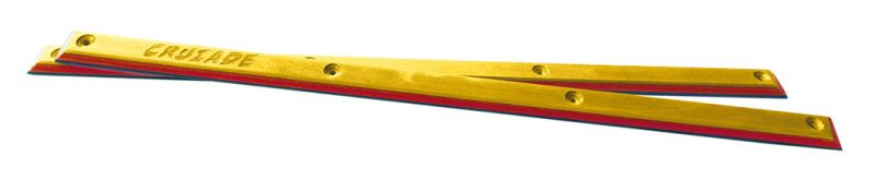 CRUZADE Maple Rails Yellow/Red/Blue - Siderails