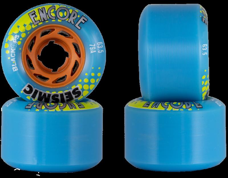SEISMIC Encore 63,5mm 79a BlackOps / Blue