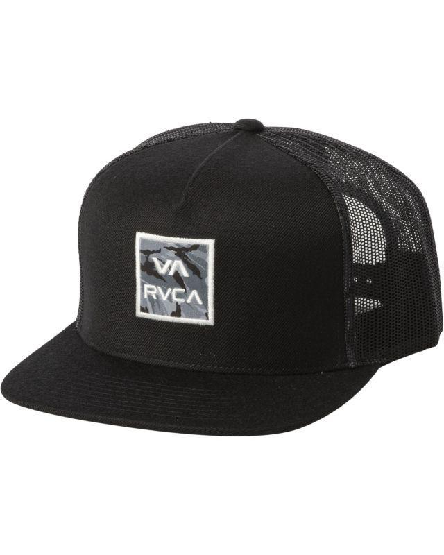 RVCA ATW Print Trucker Black