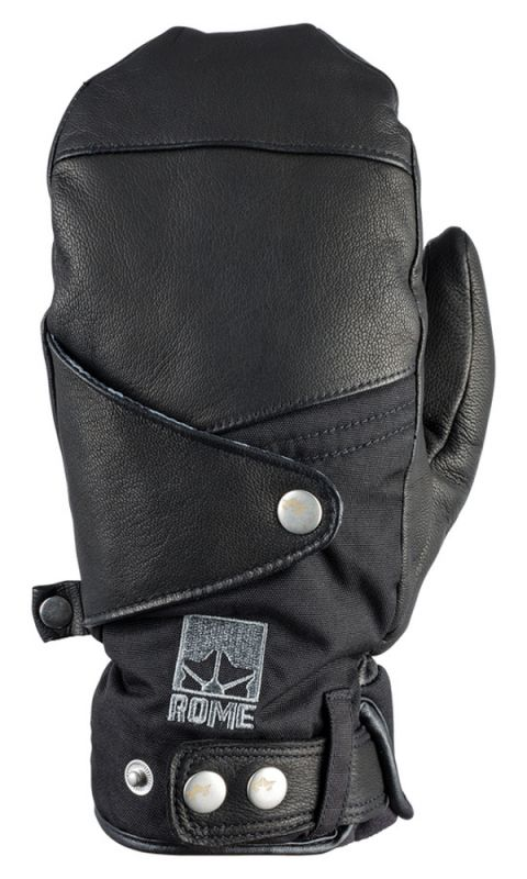 ROME Bowery Mitt Glove Black L Fausthandschuh