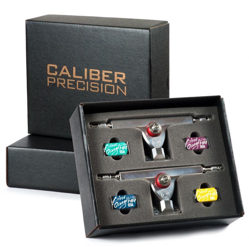 CALIBER The Precision Trucks 184,45mm 44° Silver Set