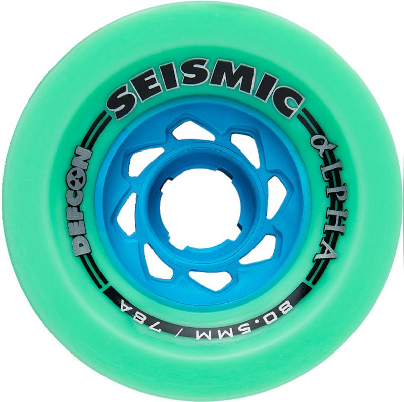 SEISMIC Alpha 80.5mm Mint 78a Defcon