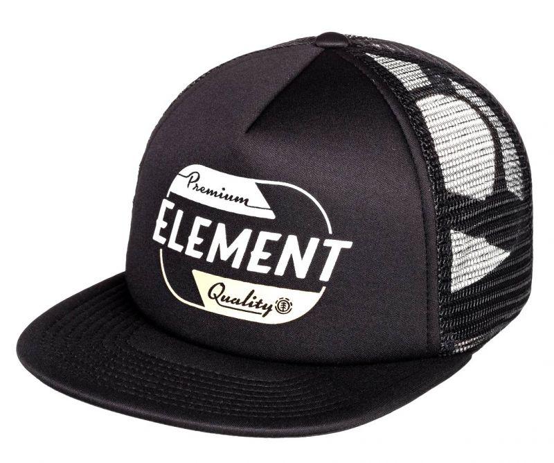 ELEMENT Depot Trucker Cap Flint Black - Trucker Cap