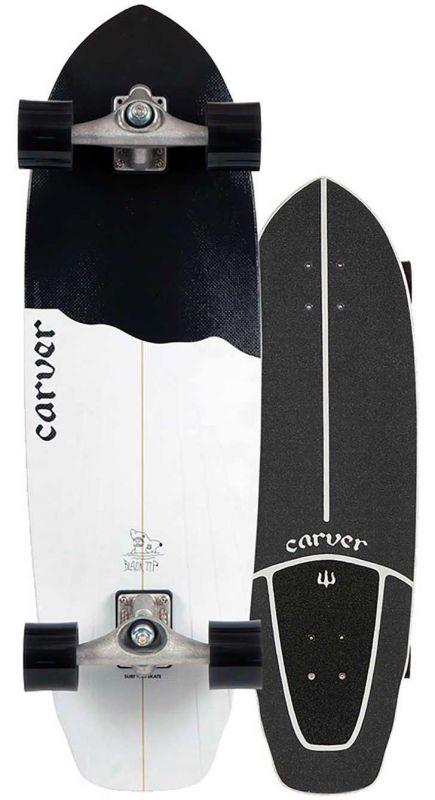 """CARVER Black Tip CX.4 32,5"""" Surfskate Komplett"""
