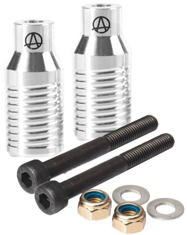 APEX Bowie Grind Stuntscooter Pegs Silber