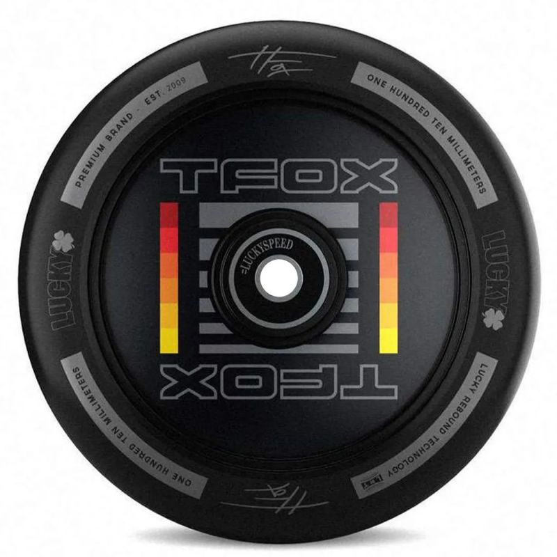 LUCKY Tanner Fox Signature Analog Wheel 110mm incl. Lager - Stuntscooter Rolle