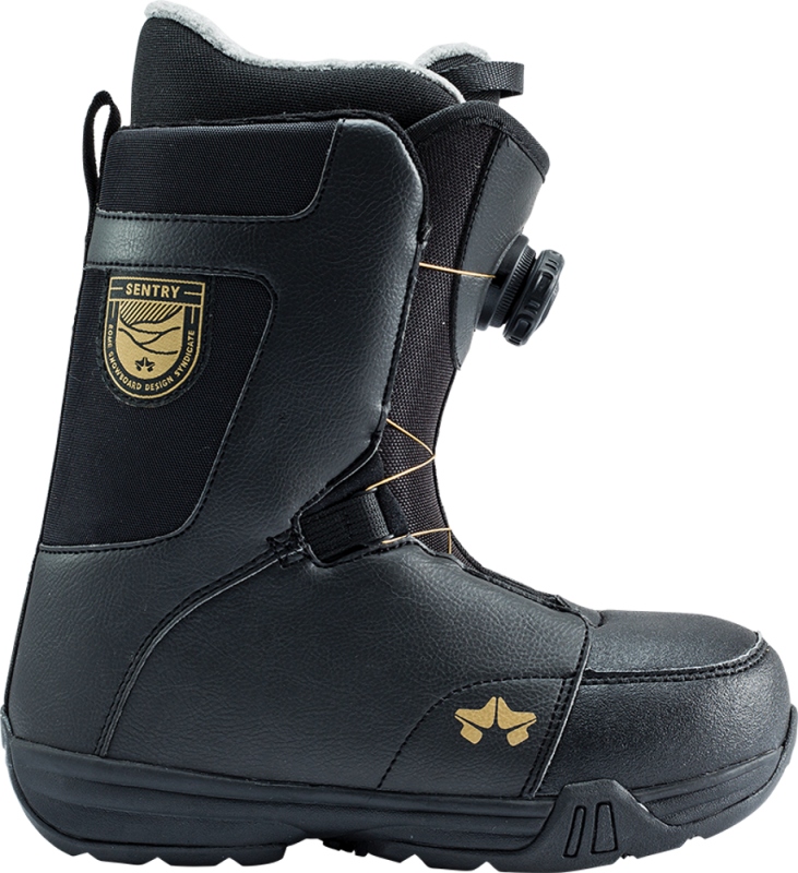ROME Women's Sentry BOA Black - Snowboard Boots - EU 37