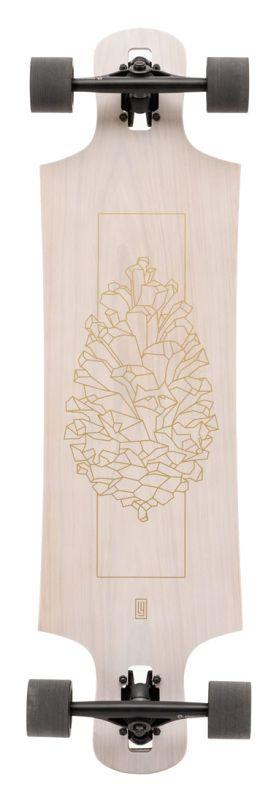 LANDYACHTZ Drop Hammer White Oak II - Longboard Komplett