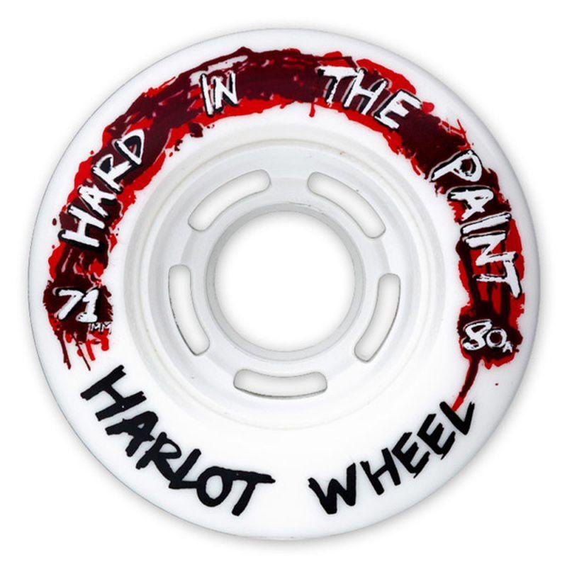 ZAK MAYTUM Hard In The Paint Wheels 71mm 80a Harlot Shape