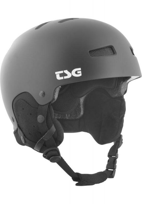 TSG Gravity Solid Color Satin Black L/XL - Snowboardhelm