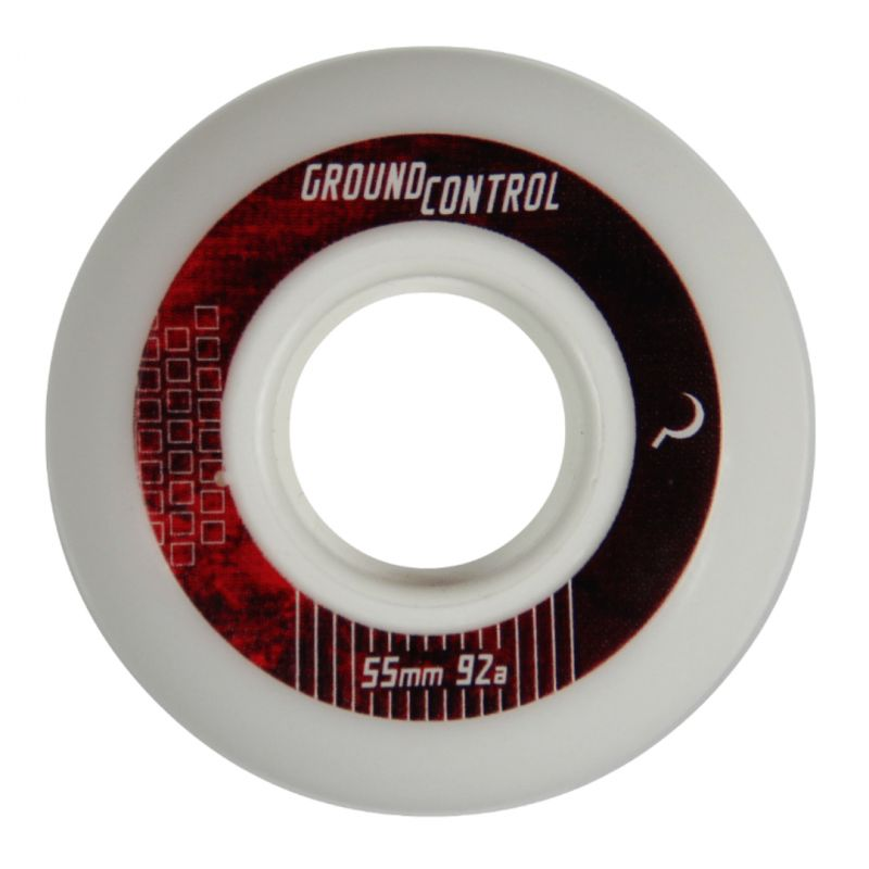 GC Wheels 55mm 92A White - Inliner Rollen