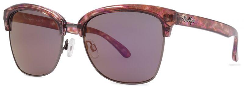 CRUSHEYES Amber - RoseTortoise/Purple Mirror - Sonnenbrille