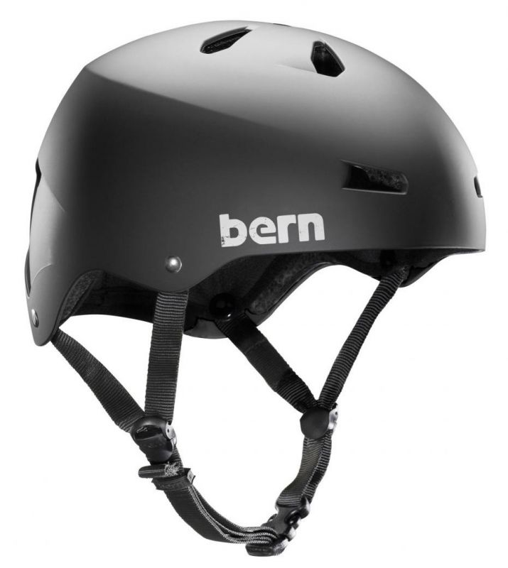 BERN Macon Classic H2O Helmet Black - Wassersporthelm