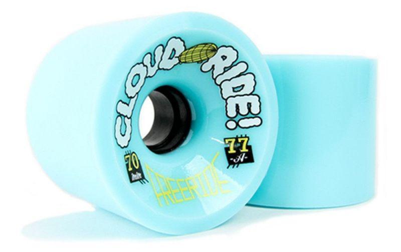 CLOUD RIDE WHEELS - Freeride 70mm 77a Light Blue