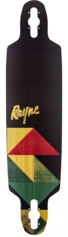 RAYNE Flight V4 Geo 2017 Longboard Deck