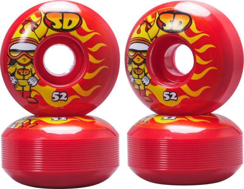 SPEED DEMONS Characters Hot Shot 52mm Red - Skateboard Rollen
