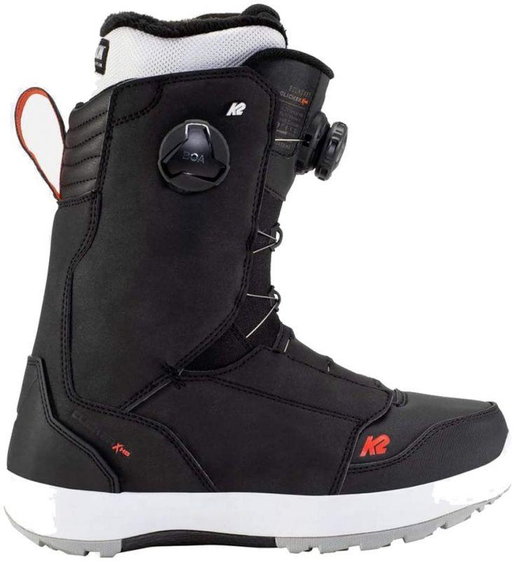 K2 Boundary Clicker X HB Black - Snowboard Boots